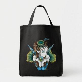 La bolsa de asas de hadas del arte de las costuras