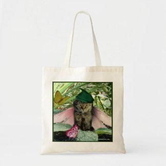 La bolsa de asas de hadas del duende del gato