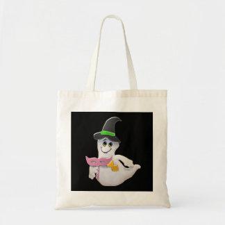 La bolsa de asas de Halloween del fantasma del