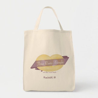 La bolsa de asas de Kringla de tres ríos