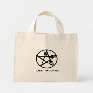 La bolsa de asas de la adoración de Seitan