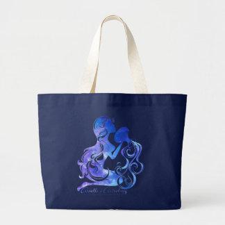 La bolsa de asas de la astrología del acuario