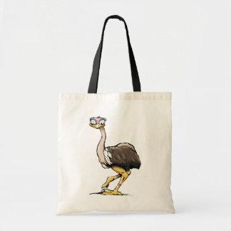 La bolsa de asas de la avestruz
