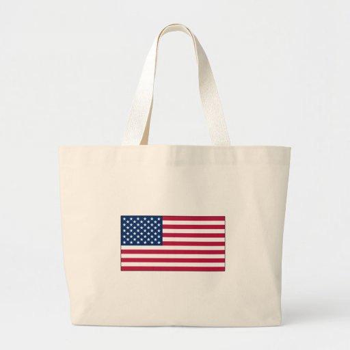 La bolsa de asas de la banderaamericana