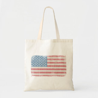 La bolsa de asas de la bandera americana del