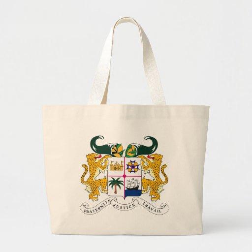 La bolsa de asas de la bandera de Benin