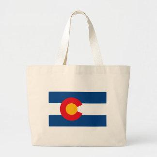 La bolsa de asas de la bandera de Colorado