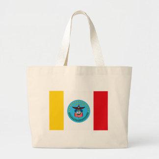 La bolsa de asas de la bandera de Columbus Ohio