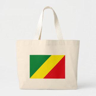 La bolsa de asas de la bandera de Congo
