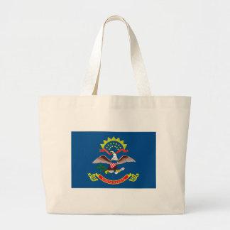La bolsa de asas de la bandera de Dakota del Norte