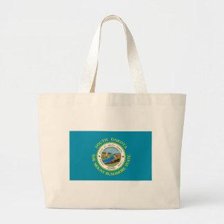 La bolsa de asas de la bandera de Dakota del Sur