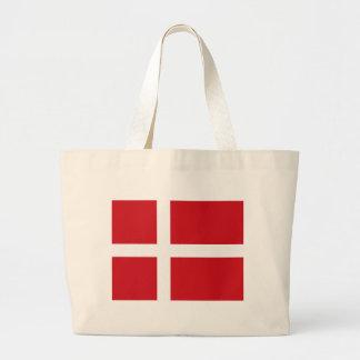 La bolsa de asas de la bandera de Dinamarca