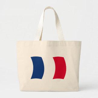 La bolsa de asas de la bandera de Francia