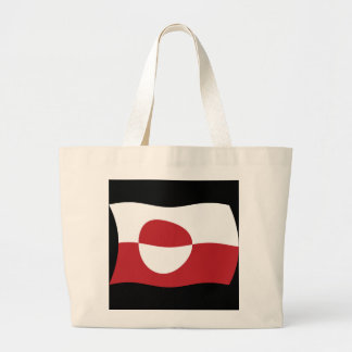La bolsa de asas de la bandera de Groenlandia