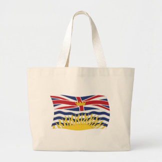 La bolsa de asas de la bandera de la Columbia Brit