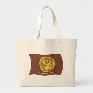 La bolsa de asas de la bandera de las tribus del B