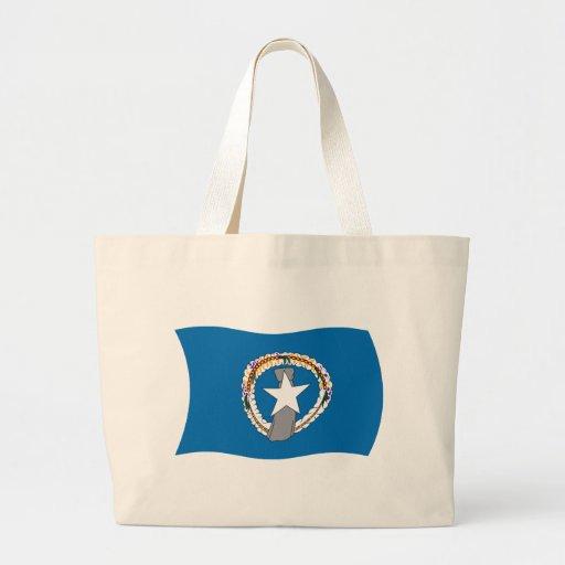 La bolsa de asas de la bandera de Northern Mariana