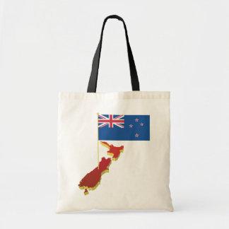 La bolsa de asas de la bandera de Nueva Zelanda