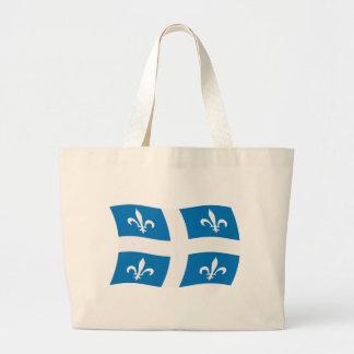 La bolsa de asas de la bandera de Quebec