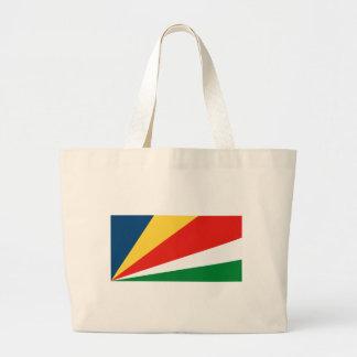 La bolsa de asas de la bandera de Seychelles