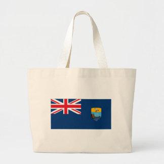 La bolsa de asas de la bandera de St. Helena