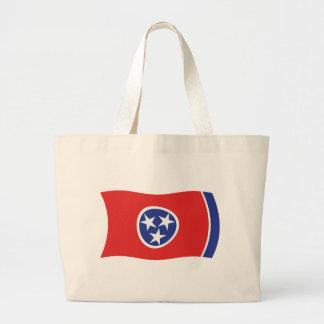 La bolsa de asas de la bandera de Tennessee