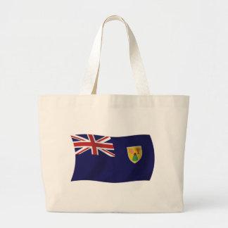 La bolsa de asas de la bandera de Turks and Caicos