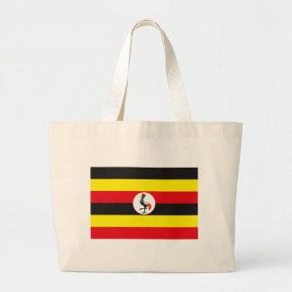 La bolsa de asas de la bandera de Uganda