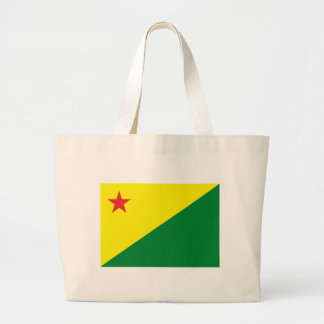 La bolsa de asas de la bandera del acre