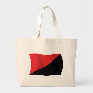 La bolsa de asas de la bandera del Anarcho-Sindica