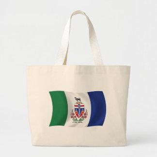 La bolsa de asas de la bandera del Yukón