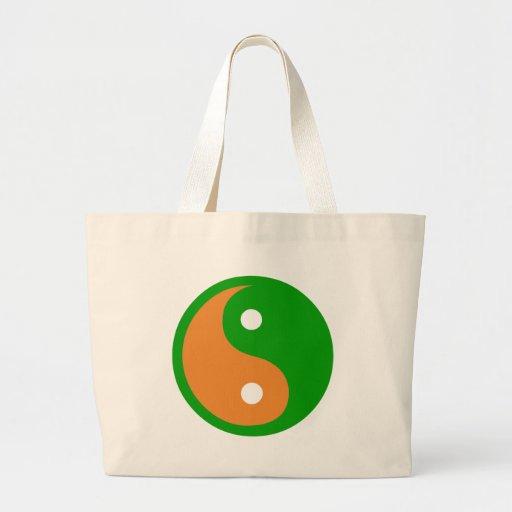 La bolsa de asas de la bandera del zen de Irlanda
