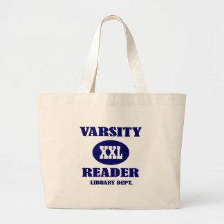 La bolsa de asas de la biblioteca del lector XXL