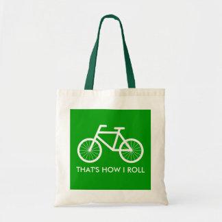 La bolsa de asas de la bicicleta para los