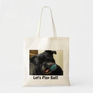 """La bolsa de asas de la bola de Lucy """"juguemos"""""""