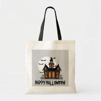 La bolsa de asas de la casa encantada de Halloween