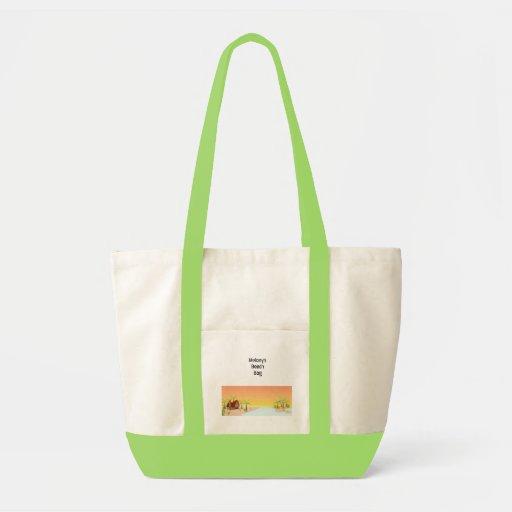 La bolsa de asas de la choza de Tiki