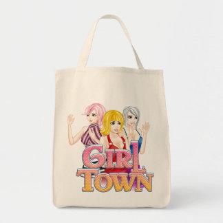La bolsa de asas de la ciudad del chica
