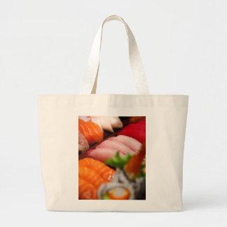 La bolsa de asas de la colección del sushi de Japó