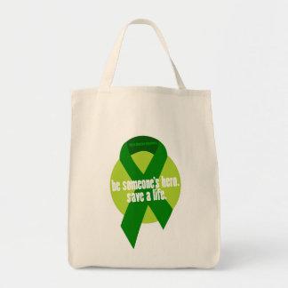 La bolsa de asas de la conciencia de la donación
