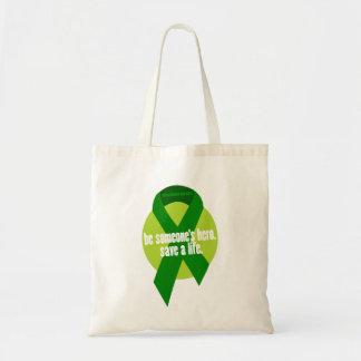 La bolsa de asas de la conciencia de la donación d