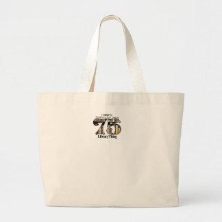la bolsa de asas de la cosa de la biblioteca 75ers