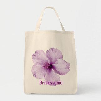 La bolsa de asas de la dama de honor de la flor de