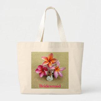 La bolsa de asas de la dama de honor para el boda