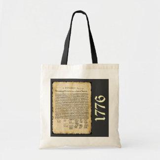 La bolsa de asas de la Declaración de Independenci
