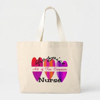 La bolsa de asas de la enfermera del hospicio