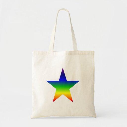 La bolsa de asas de la estrella del arco iris