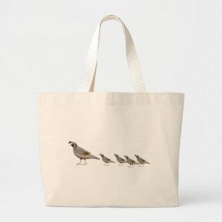 La bolsa de asas de la familia de las codornices