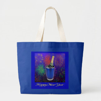 La bolsa de asas de la Feliz Año Nuevo