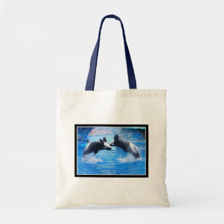 La bolsa de asas de la foto de la ballena